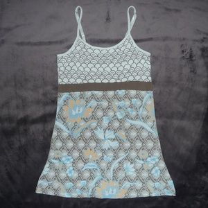 Athleta Lotus Printed Bra Cami Tank S